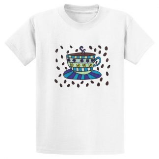UniSex-SS-Tee-white-coffee-bean-cup