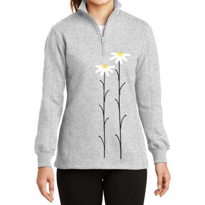 14-Zip-Sweatshirt-grey-daisiesW