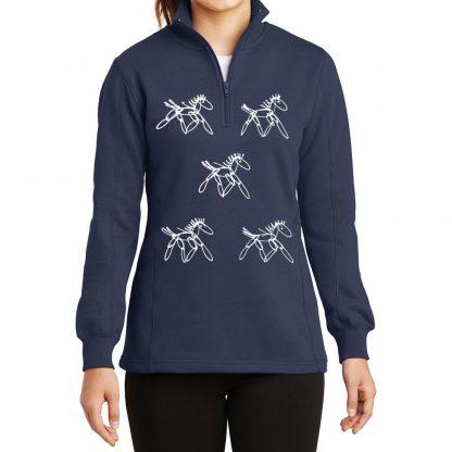 14-Zip-Sweatshirt-navy-running-horses