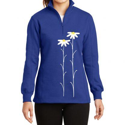 14-Zip-Sweatshirt-royal-daisiesW