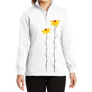 14-Zip-Sweatshirt-white-daisiesY