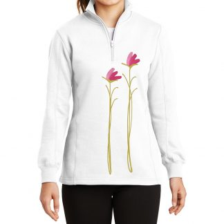 14-Zip-Sweatshirt-white-pink-floral