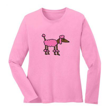 LS-Tee-pink-pink-poodle