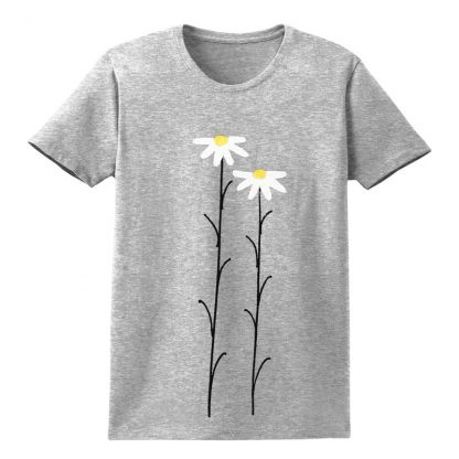 SS-Tee-grey-WhtDaisies