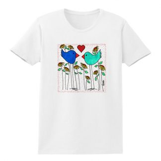 SS-Tee-white-love-birds-flowers