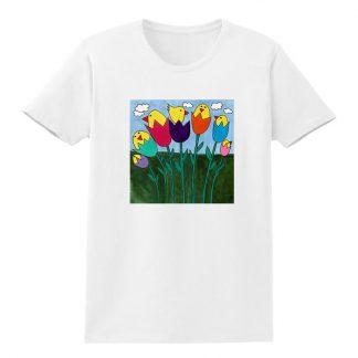 SS-Tee-white-tulip-birds