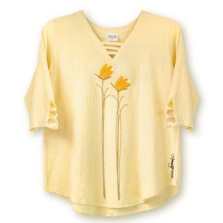 V-Lattice-Top-yellow-yellow-floral