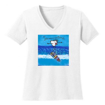 V-Neck-Tee-white-summertime-surfer