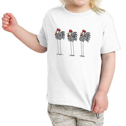 SS-Toddler-T-white-3-chickens