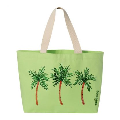 Tote-lime-3-palms