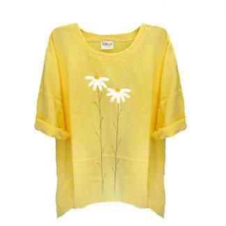 Tunic-yellow-daisies