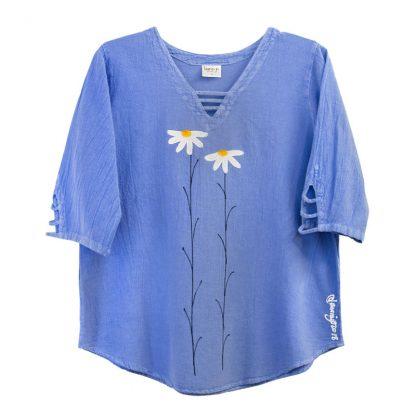 V-Lattice-Top-sky-blue-daisies