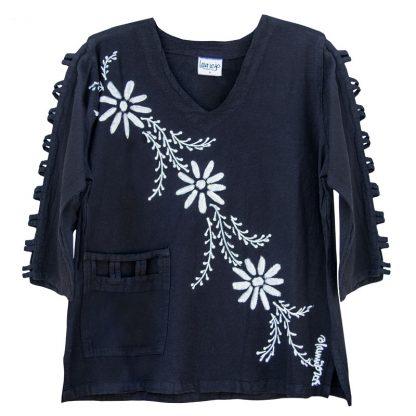 lattice-sleeve-w-pocket-black-mina-flowers