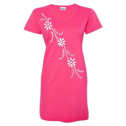 t-dress-pink-mina-flowers