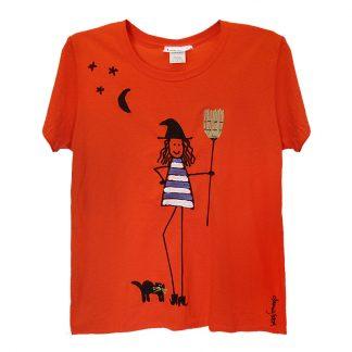 SS-Tee-orange-witch