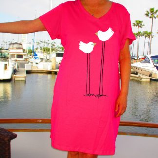 V-Neck T-Dress